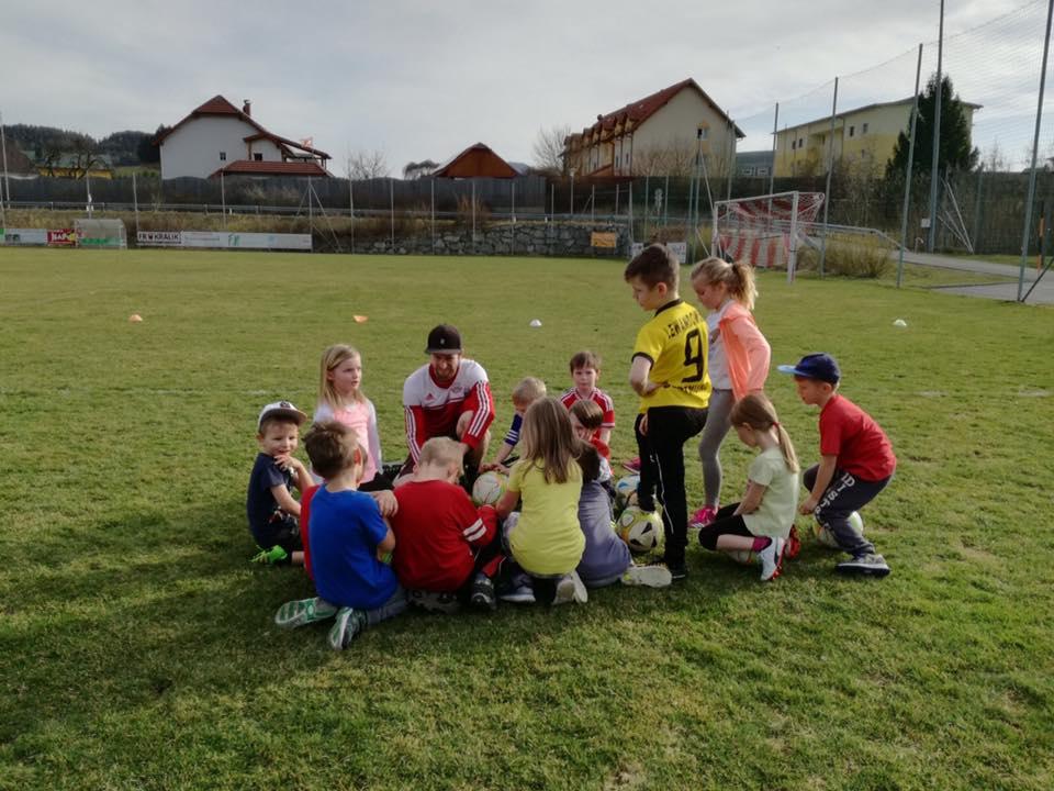 WimbergerHaus – Erstes Bambini-Training